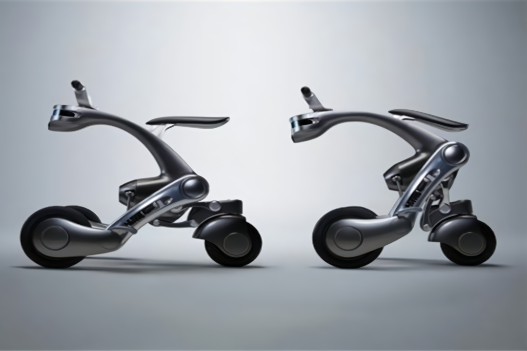 日本研发出可变形机器人,能辅助日常生活之外,还能变形为摩托车