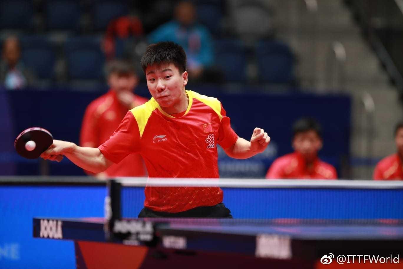 国乒团灭日本连夺2冠 15岁世界第一横扫