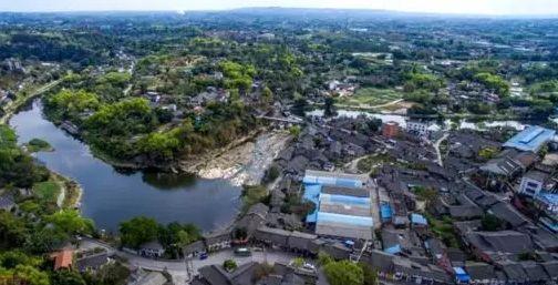 自贡闻名风景图画