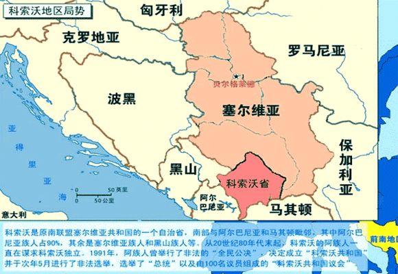 科索沃建军:黑手又伸向了巴尔干地区