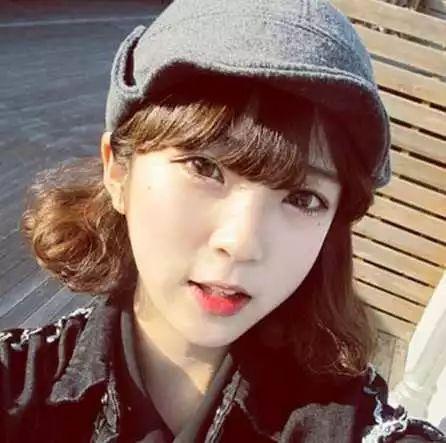韩式短发烫发发型清新甜美韩式范满满!