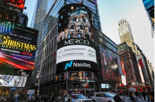 法国时尚品牌MERCO蜜古,荣登纽约时代广场被外媒报道