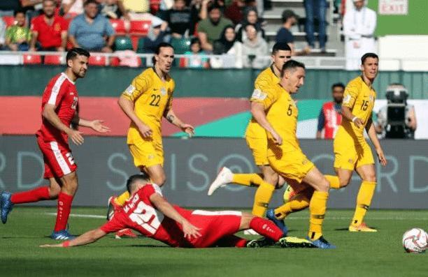 麦克拉伦破门!澳大利亚3-0完胜巴勒斯坦,上升至B组第二