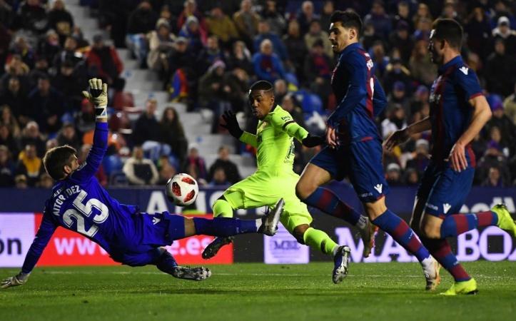 巴萨开场18分钟0-2!少了梅西实力暴跌 上个月才5球血虐对手