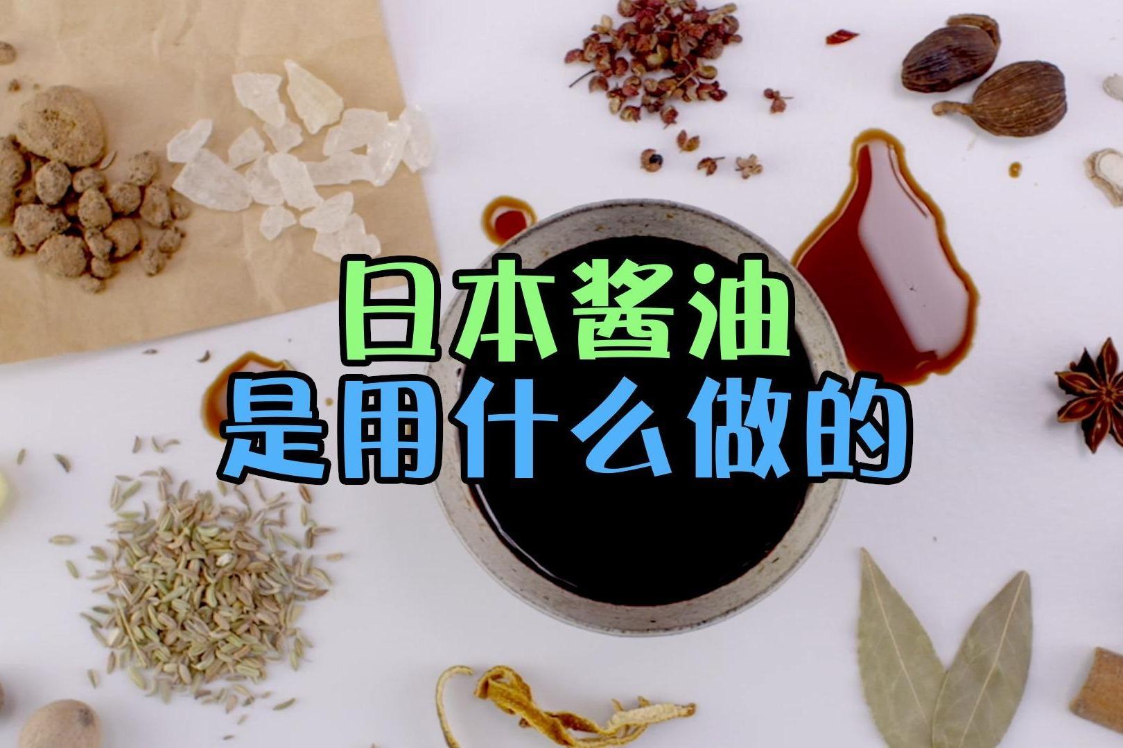 中国有些酱油是用豆子做的,传入日本后,酱油都是用什么做的?