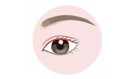 丹凤眼与下垂眼恰好相反,眼尾比眼头要高,是东方古典美人的代表眼型.图片