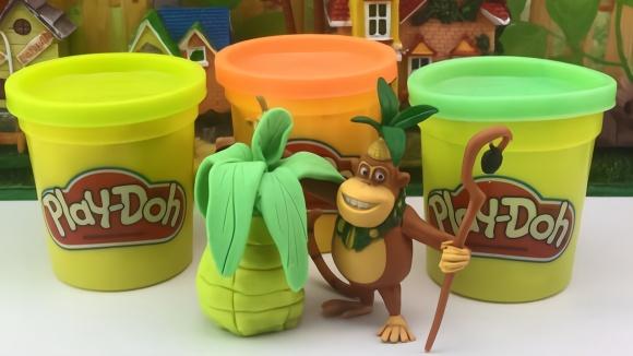 吉吉手工制作diy彩泥玩具菠蘿圖片
