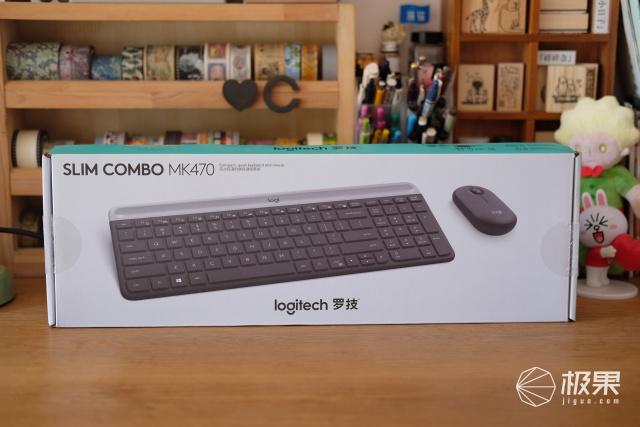 罗技Slim Combo MK470无线鼠键套装 - 移动办公新选择