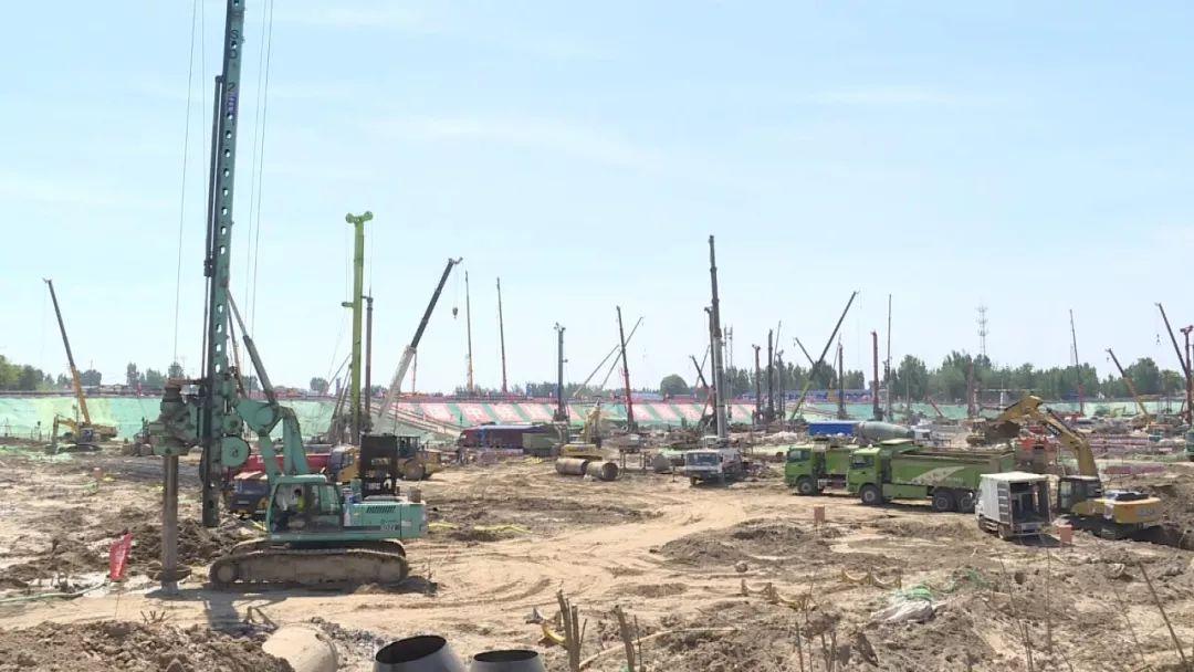 视频来啦!雄安新区一批重点项目启动建设