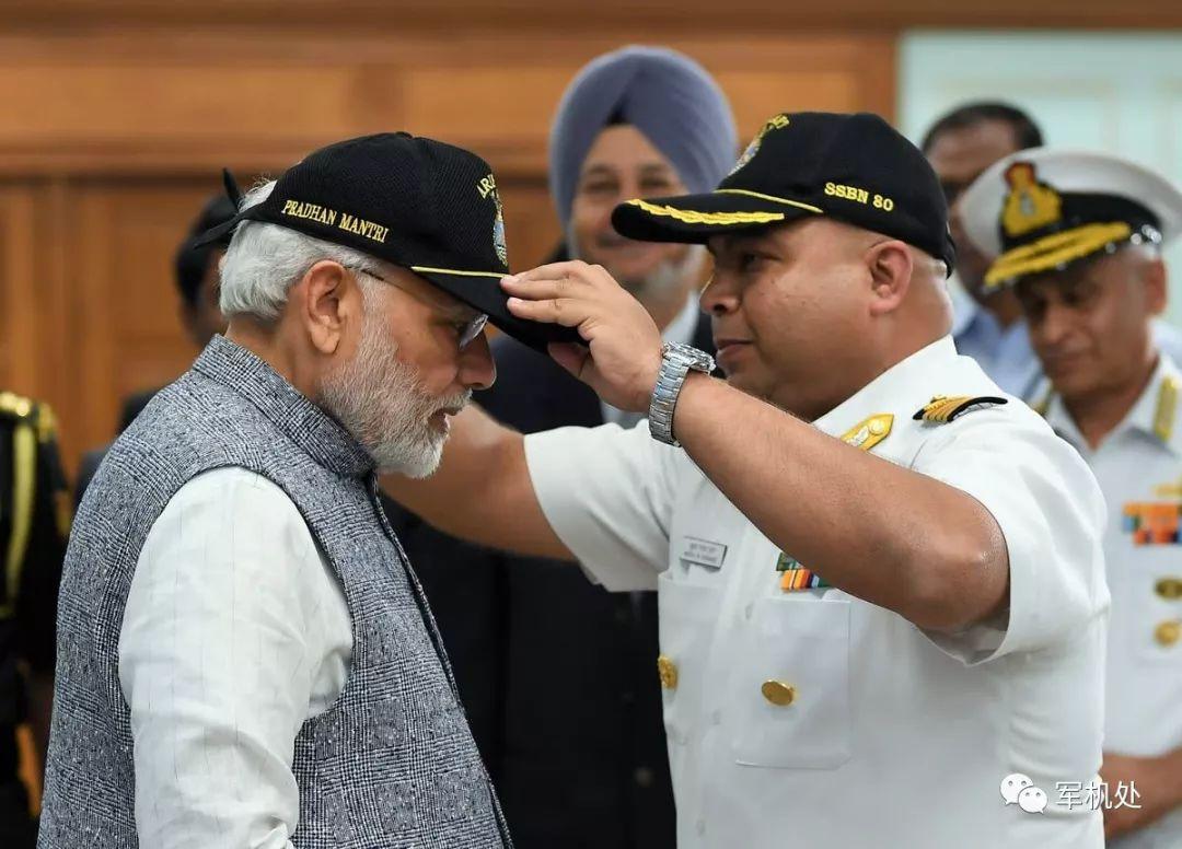 """印度欢呼国产核潜艇完成首次""""战略威慑巡逻"""""""