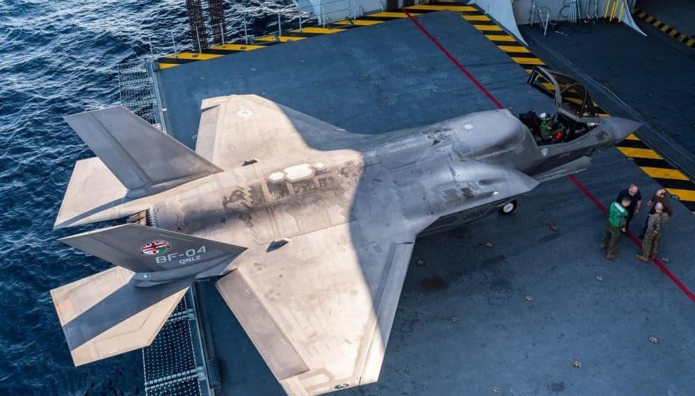 英国将于2022年前装备35架F-35隐身战斗机,数量增加一倍