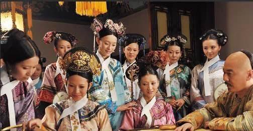雍正皇帝在清朝的皇帝里面,后妃数目可能就算少的了!图片
