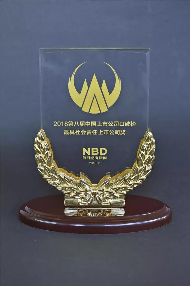 """五粮液荣获""""最具社会责任上市公司奖"""""""