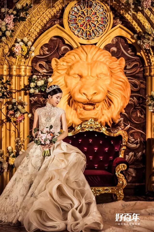花园与美女野兽美女┃迷堡主题的a花园恋语婚礼附近大波图片