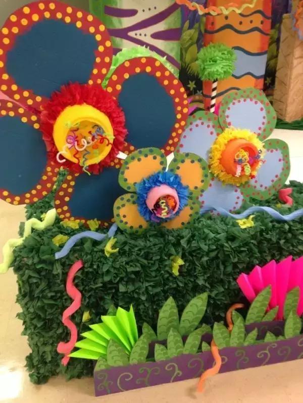 小小传承人:幼儿园环创主题墙及楼道这样布置最好看