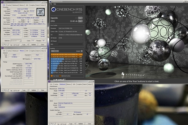 钎焊散热加持!i9-9900K液氮超频6.9GHz:创下跑