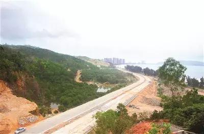 稔平半岛环岛公路通车!以后去惠东滨海不堵车了