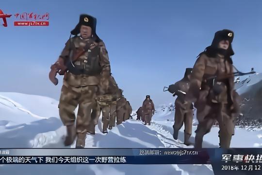 新疆生产建设兵团:百余名师团连主官雪中大练兵