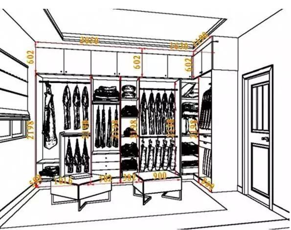组合衣柜设计图