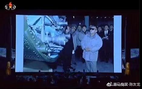 金正日视察火星-13一级潜入式发动机