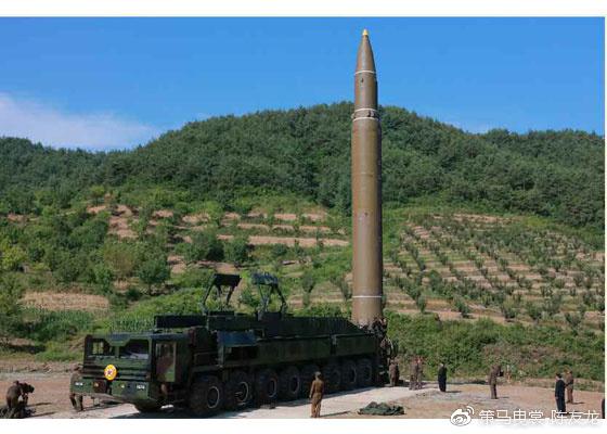 "NK在7月4日曾宣布成功发射""火星""-14导弹"