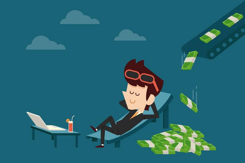 """普通人躺着赚钱的方法:持续增加你的""""被动收"""