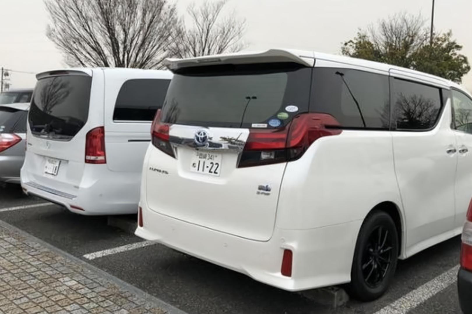 国内加价神车埃尔法,在日本却是全民街车