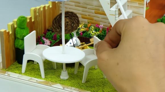 微型主题diy长发v主题模型积木模型的学生用品微型手工宝贝榆次公主玩具在哪图片
