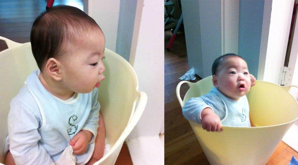 韩国表情包三兄弟旧照曝光,网友从小萌到大 娱乐前线 第4张