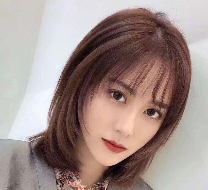 网红八字刘海pk法式刘海
