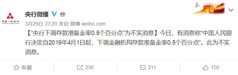 中国央行一个月内两度辟谣降准,透露了什么信号?