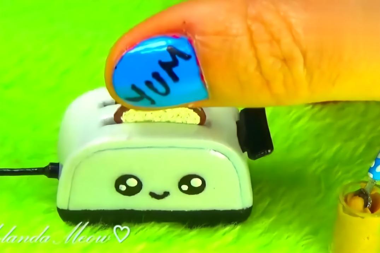 diy手工制作:制作迷你自动烤面包机,小巧可爱!