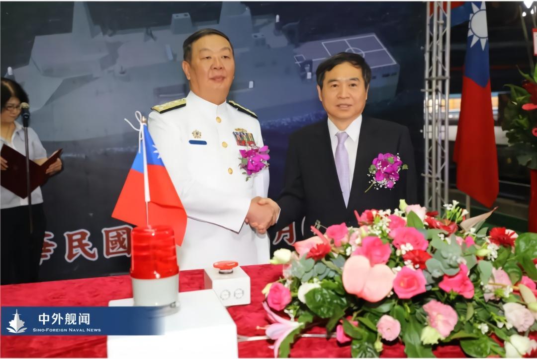 台湾海军 是何居心?台湾开工新型万吨两栖船坞舰