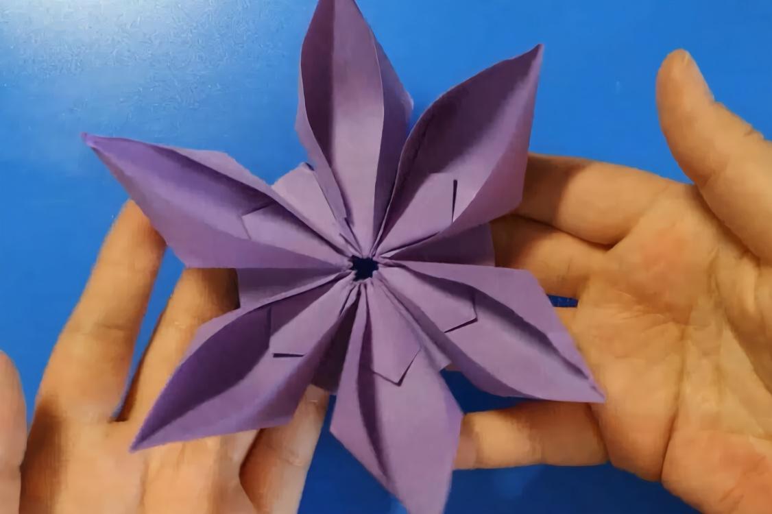 花卉折纸大全 图解