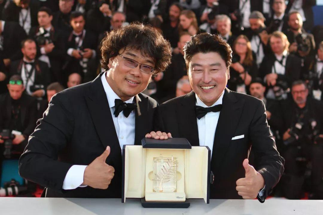 《寄生蟲》奪金棕櫚 刷新韓國電影歷史