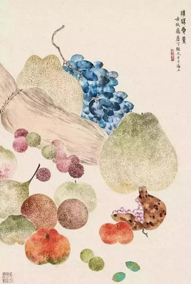 丁辅之~画水果的行家