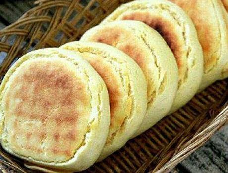 孩子想吃发面饼,吾浅易一做,早餐一直吃了3个,元气满满往上学