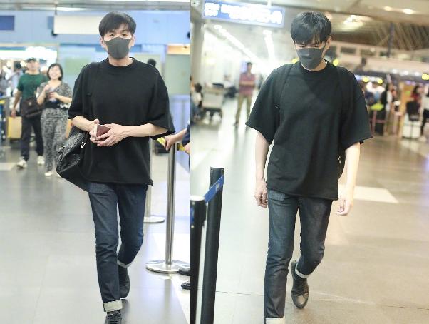 婚礼倒计时,张若昀现身机场飞往爱尔兰