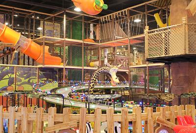 4米以下儿童) 卡通尼乐园(茂业百货店)三小时畅游体验(1位成人及一位图片