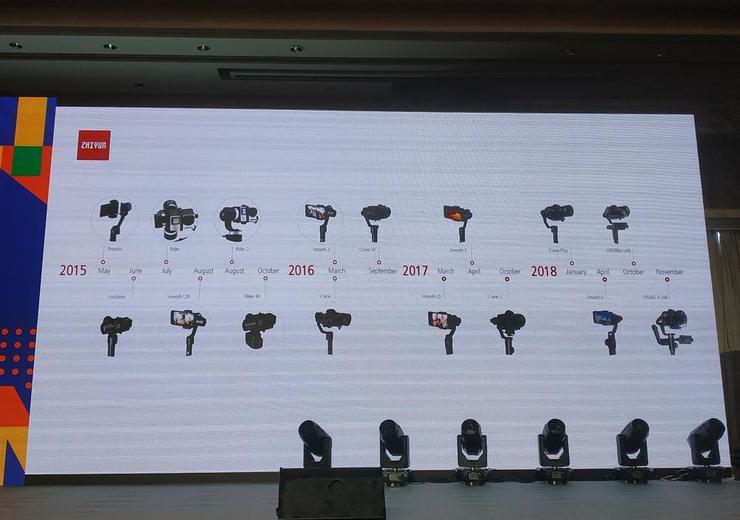 ZHIYUN云鹤M2正式发布:三轴采用全新收纳锁定设计,稳定器再迎新品