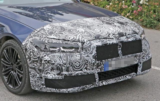 中期改款BMW 5系曝光,等等!这是545e?