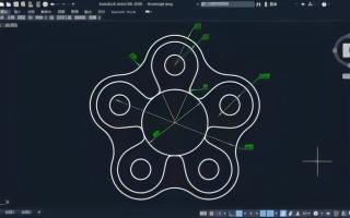 cad植物入门教程带图例的方法绘制应该?圆弧很平面设计角度基础图片