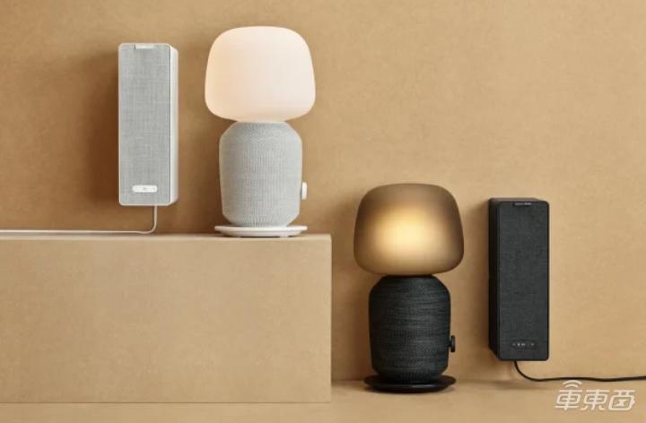 宜家首款智能音箱8月发售:嵌入台灯和书柜外形