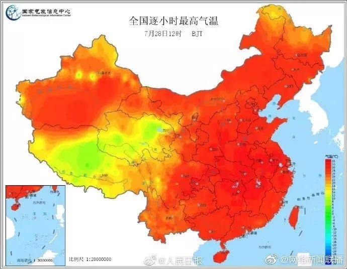 """全国成""""烧鸡""""!成都气象局发布暴雨蓝色预警:""""焖锅加水""""会更闷"""