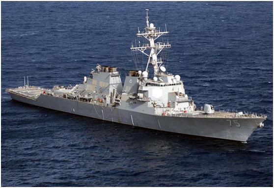 美式下饺子:伯克舰第67艘服役,排水量近万吨,最强海军名副其实
