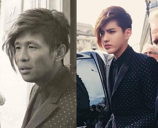 撞上吴亦凡同款发型,宋小宝:为什么我不帅 网友:太辣眼,关掉图片