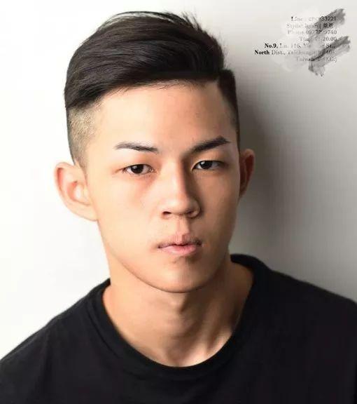 颜色低于170的身高,剪这3款发型,帅气又显高!今年流行什么男生的头发显白图片