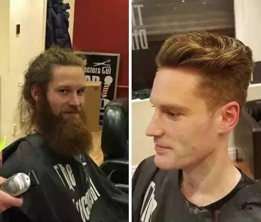 男人不捯饬一下发型,永远不知道自己有多帅!图片