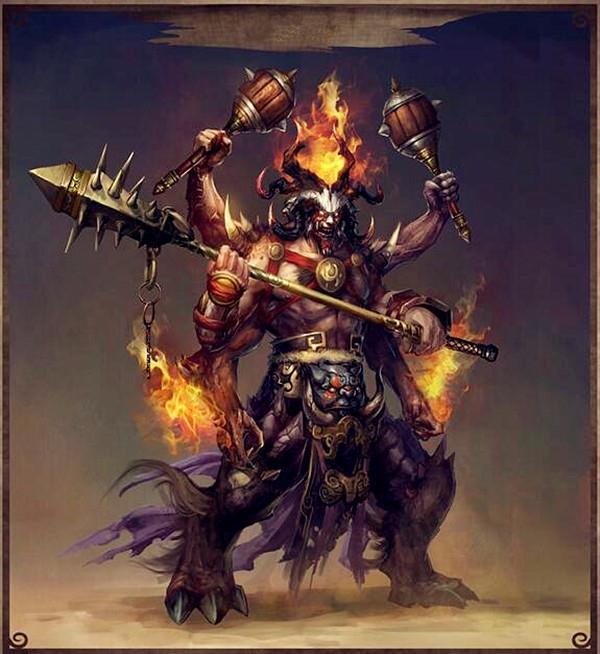 中国上古的五大魔神,他们与黄帝为敌,都是神通广大