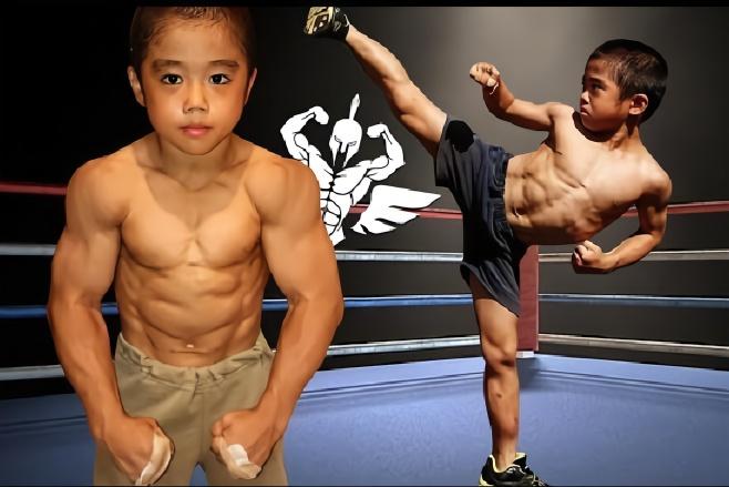 """""""日本李小龙""""高强度训练视频!疯狂训练导致身高4年几乎无变化"""
